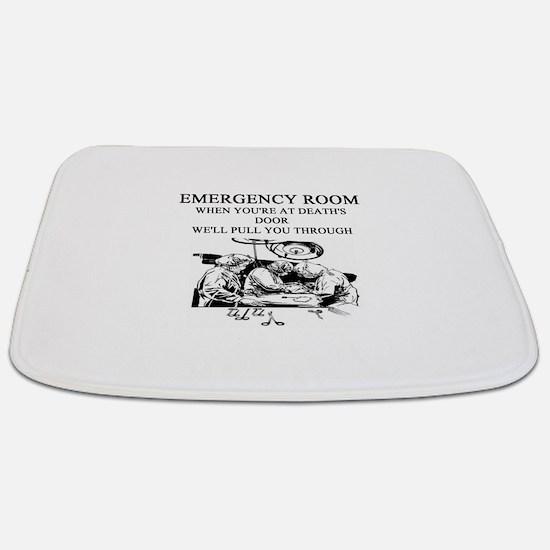 emergency room doctor joke gifts t-shirts Bathmat