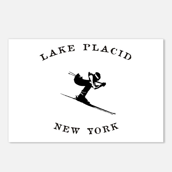 Lake Placid New York Ski Postcards (Package of 8)