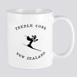 Treble Cone New Zealand Ski Mugs