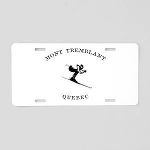 Mont Tremblant Quebec Ski Aluminum License Plate