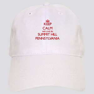 Keep calm we live in Summit Hill Pennsylvania Cap