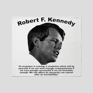 RFK: Revolution Throw Blanket