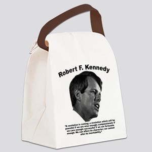 RFK: Revolution Canvas Lunch Bag