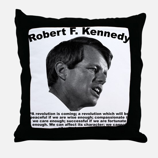 RFK: Revolution Throw Pillow