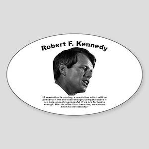 RFK: Revolution Sticker (Oval)