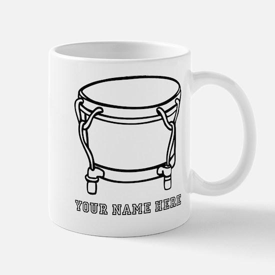 Custom Hand Drum Mugs