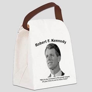 RFK: Involve Canvas Lunch Bag