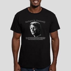 RFK: Change Men's Fitted T-Shirt (dark)