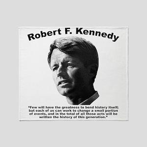 RFK: Change Throw Blanket