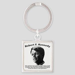 RFK: Change Square Keychain