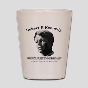 RFK: Change Shot Glass
