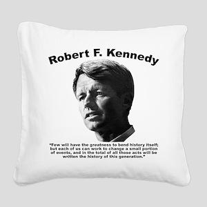 RFK: Change Square Canvas Pillow