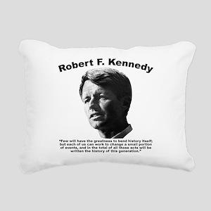RFK: Change Rectangular Canvas Pillow