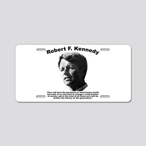 RFK: Change Aluminum License Plate