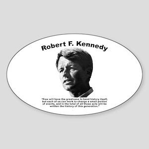 RFK: Change Sticker (Oval)
