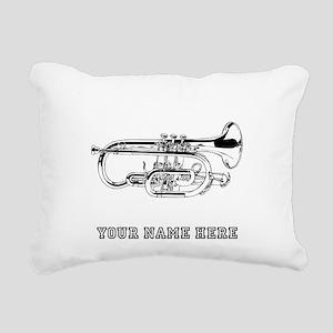 Custom Baritone Horn Rectangular Canvas Pillow