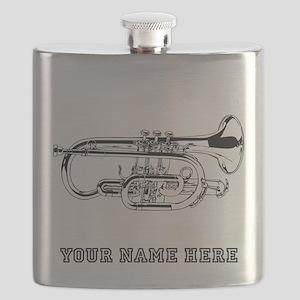 Custom Baritone Horn Flask