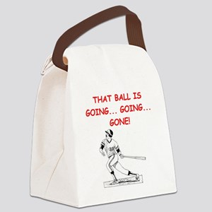 BASEBALL1 Canvas Lunch Bag