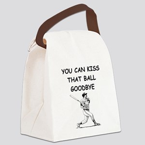 baseball slugger Canvas Lunch Bag