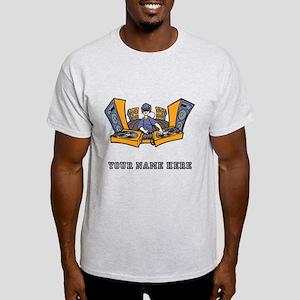 Custom Cartoon DJ T-Shirt