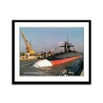 USS STONEWALL JACKSON Framed Panel Print