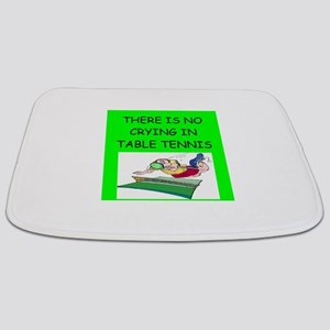 table tennis gifts Bathmat