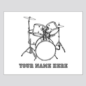 Custom Drum Set Posters
