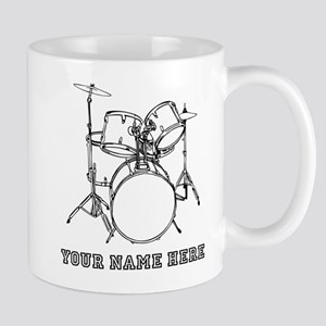 Custom Drum Set Mugs