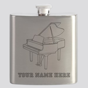 Custom Baby Grand Piano Flask