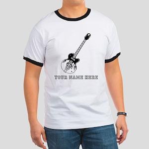 Custom Electric Guitar T-Shirt
