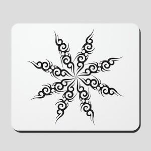 Tribal Snowflake Mousepad