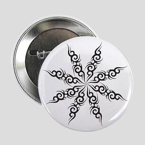 Tribal Snowflake Button