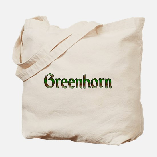 greenhorn Tote Bag