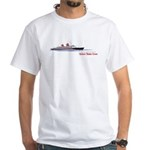SS America United States Lines Vintage Ad T-Shirt