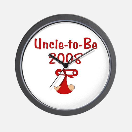 Uncle-to-Be 2008 Wall Clock