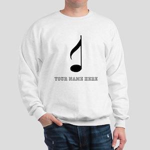 Custom Eighth Note Sweatshirt