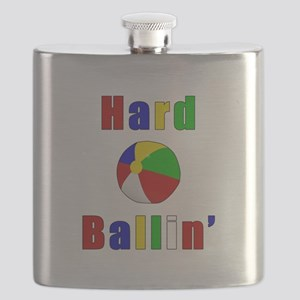 Hard Beach Ballin' Flask
