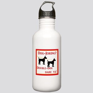 Dog-joring? Double-dog Stainless Water Bottle 1.0L