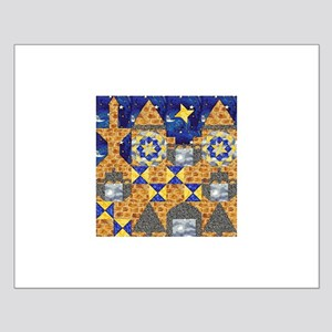Castle Quilt Mural Small Poster