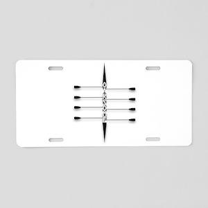 Oarsome! Aluminum License Plate