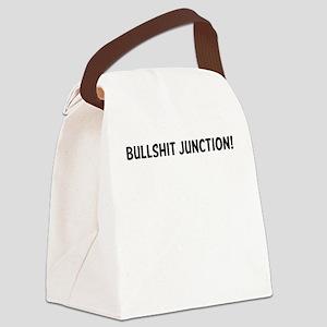 Bullshit Junction! Canvas Lunch Bag