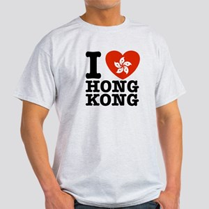 I Love Hong Kong Light T-Shirt