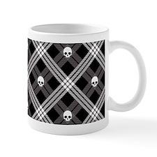 Gothic Skull Plaid Mug