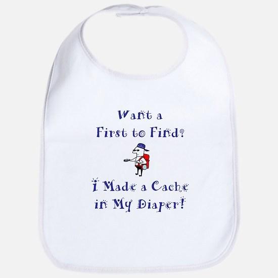 FTF Diaper Cache Bib