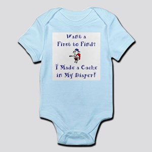 FTF Diaper Cache Infant Bodysuit