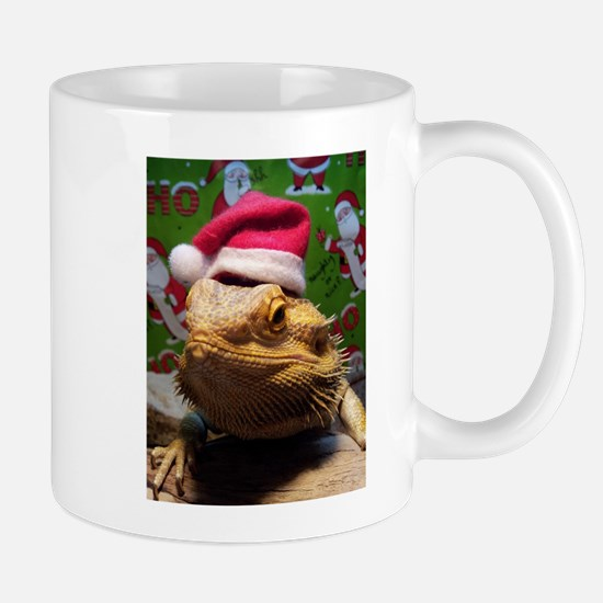 Beardie Santa Hat Mugs