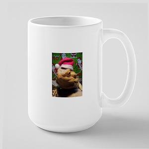 Beardie Santa Hat Mugs
