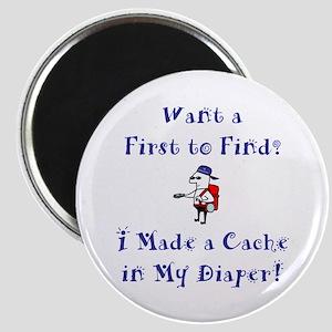FTF Diaper Cache Magnet