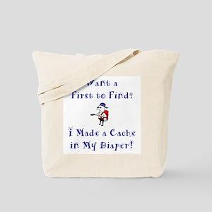 FTF Diaper Cache Tote Bag
