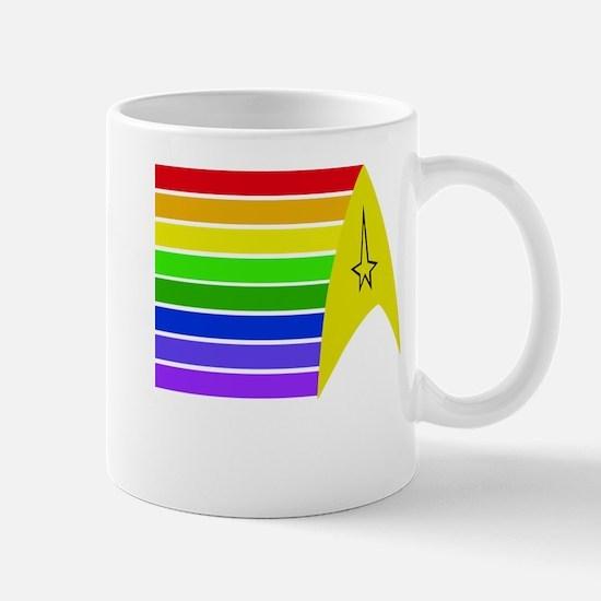Rainbow Delta Mugs